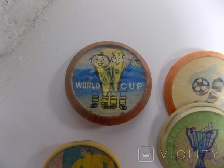 6 -двойных знаков -динамо- футбол -ссср и другое, фото №8