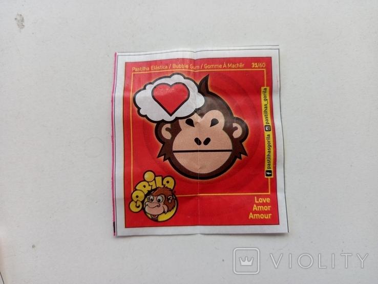 Жевательная резинка Gorila(7 шт), фото №4