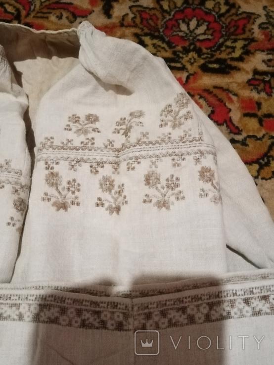Сорочка полотняна вишита настилом 2, фото №3