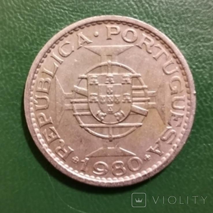 2 патака 1980 р.Макау, республіка Португалія, фото №3