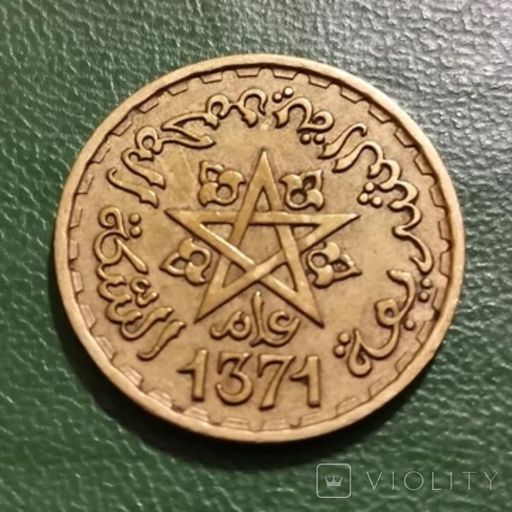 20 франков 1952 г. Марокко, фото №3