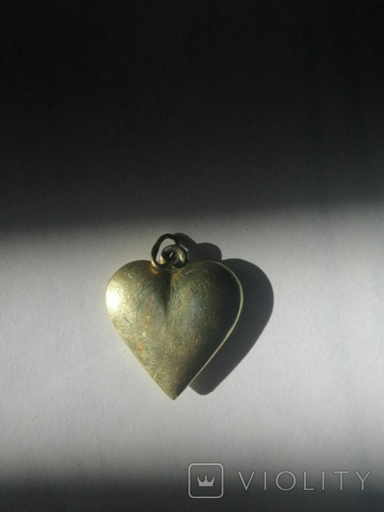 Кулон сердце, фото №2