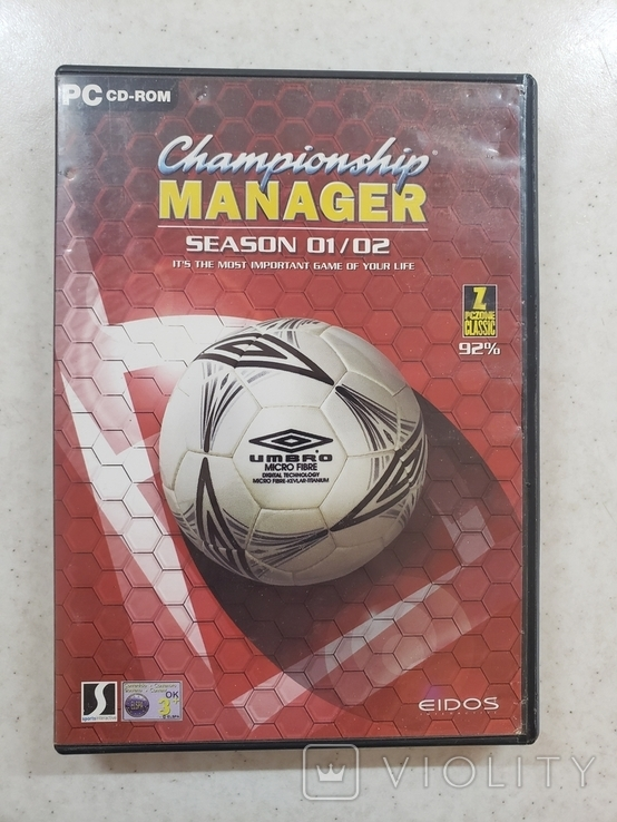 Championship manager: season 01/02 (PC)