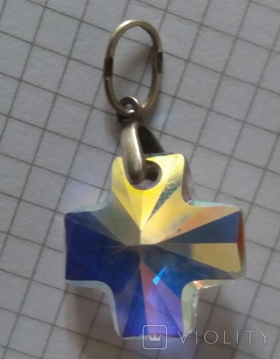 Кулон серебро 925 проба., фото №4