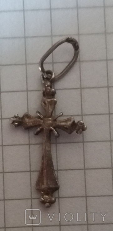 Серебряный крестик 925 проба., фото №3