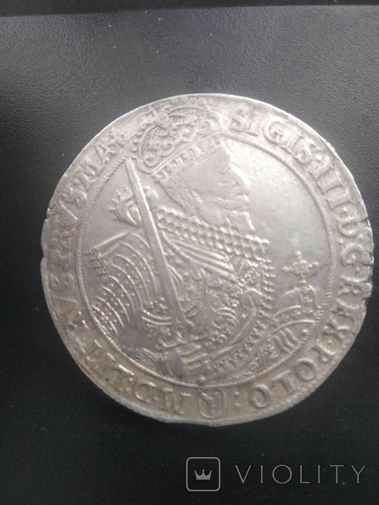 Талер Сигизмунд 3 1628, фото №2