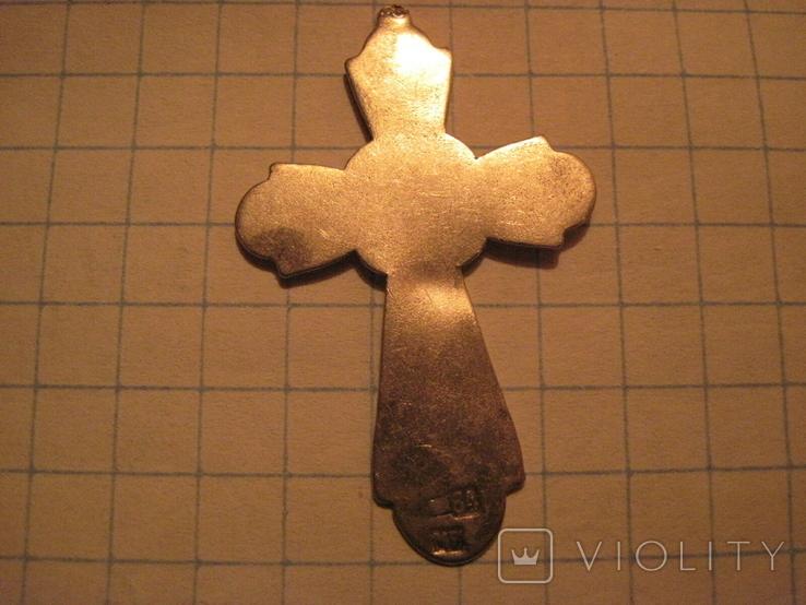 Крестик 84 проба, фото №3