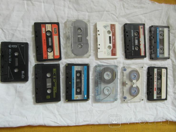 Магнитофонные кассеты.Разных брендов.Цена за 11 штук., фото №11