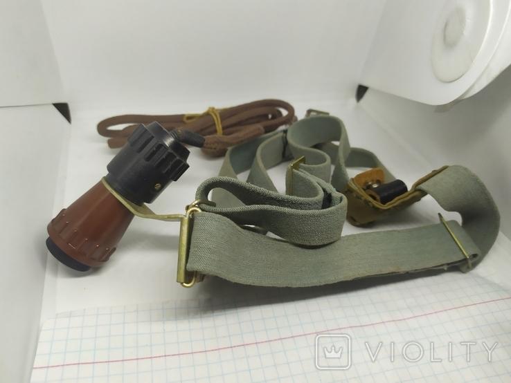 Налобный фонарик. СССР, фото №2
