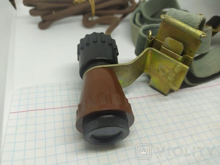 Налобный фонарик. СССР, фото №5