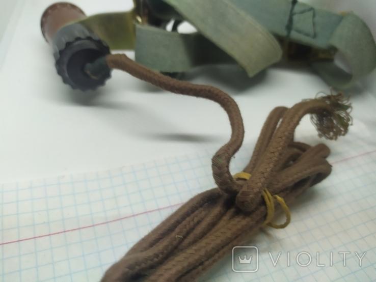 Налобный фонарик. СССР, фото №7