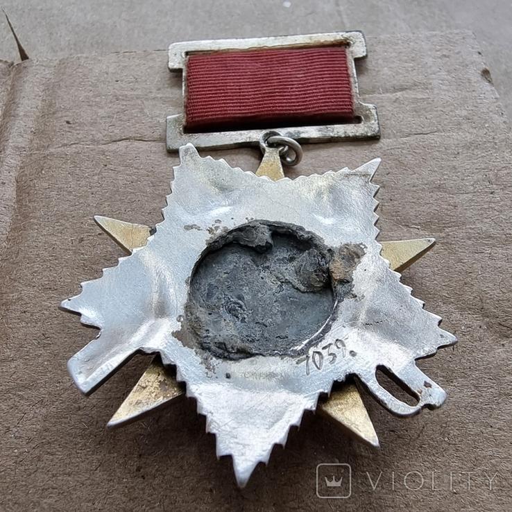 Орден Отечественной войны 2 степени подвесной тип, фото №7