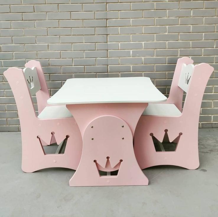 """Столик и стульчик """"Корона"""", фото №2"""
