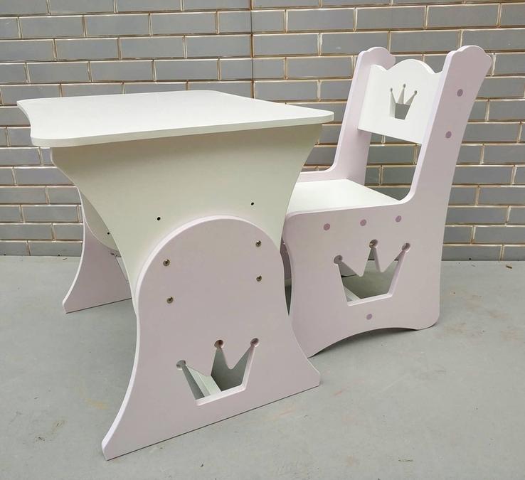 """Столик и стульчик """"Корона"""", фото №3"""