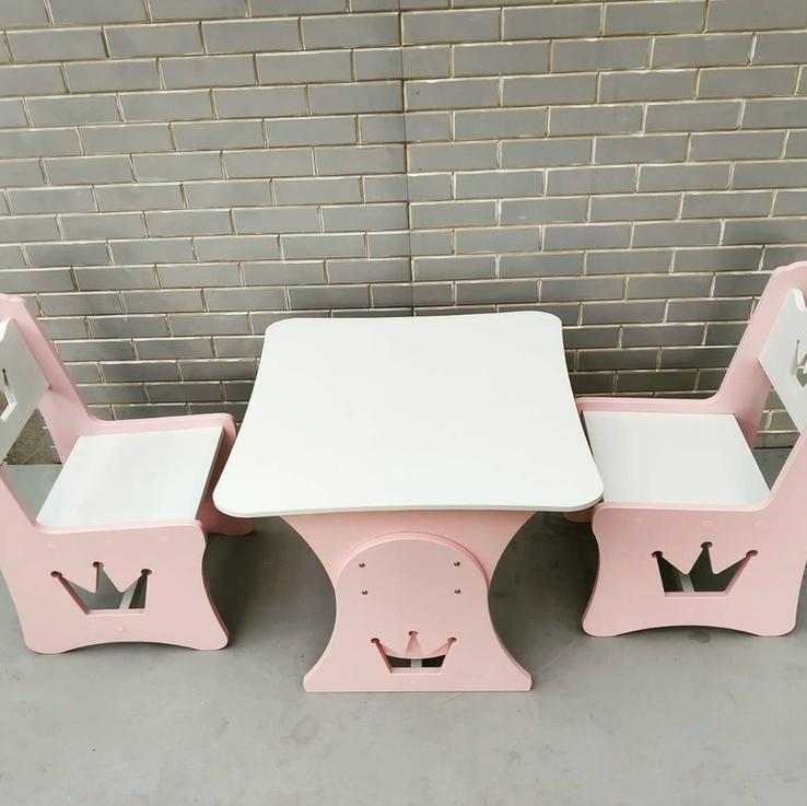 """Столик и стульчик """"Корона"""", фото №6"""
