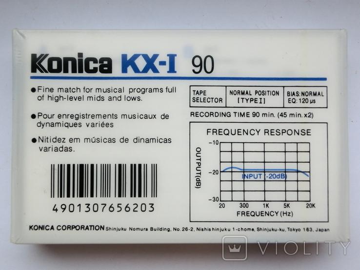 Новая Кассета Konica KX-1 90, фото №3