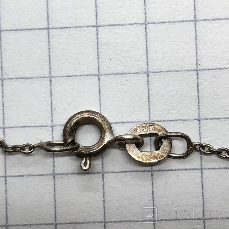 Подвес серебро с сюжетом на цепочке, фото №7