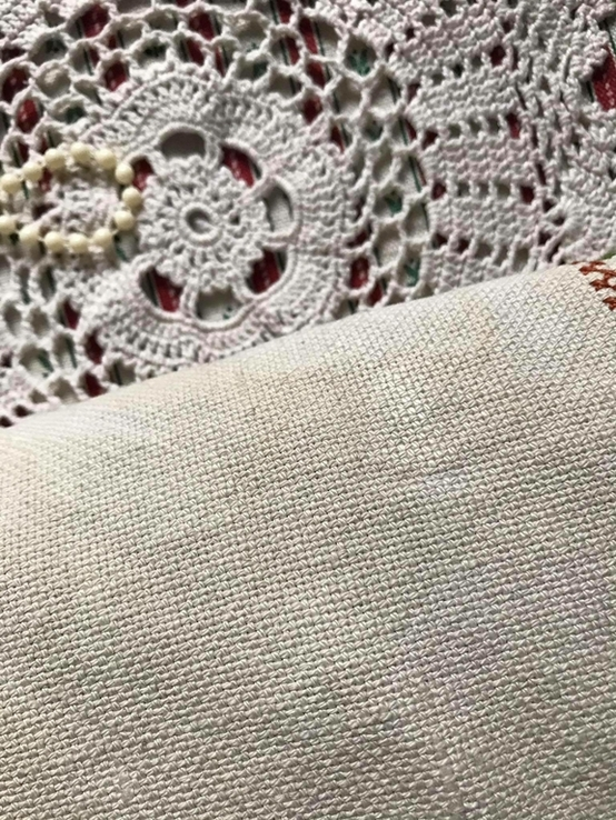Подушка декоративная вышивка бахрома пух перо, фото №4