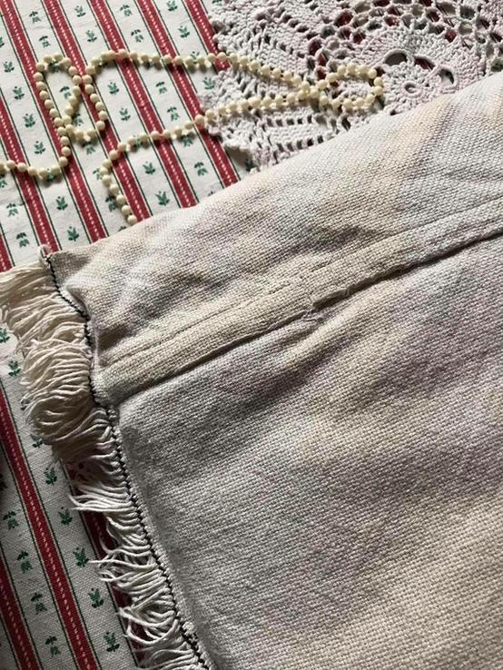 Подушка декоративная вышивка бахрома пух перо, фото №8