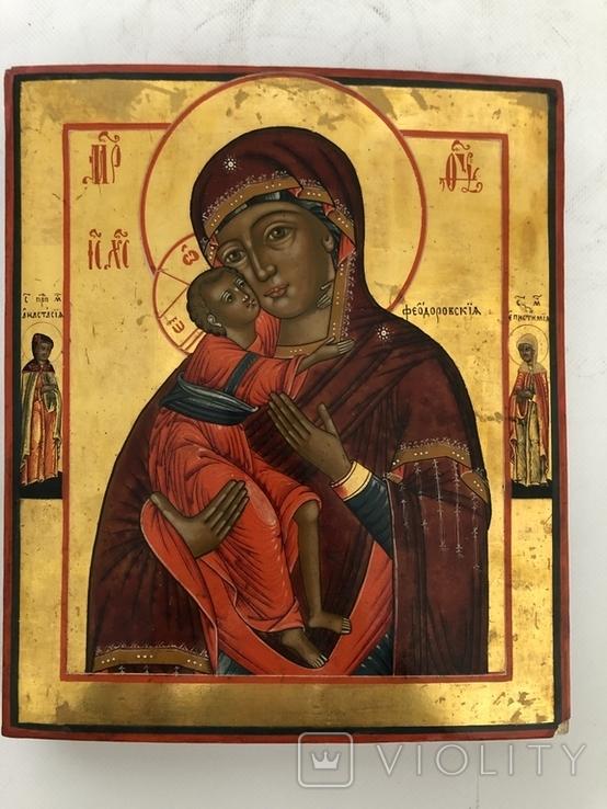 Икона Б. М. Феодоровская, фото №2
