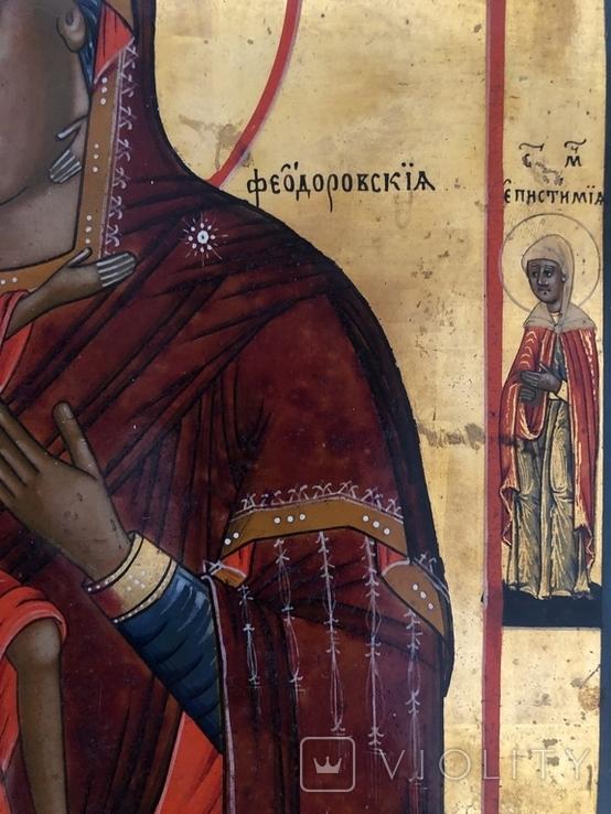 Икона Б. М. Феодоровская, фото №5