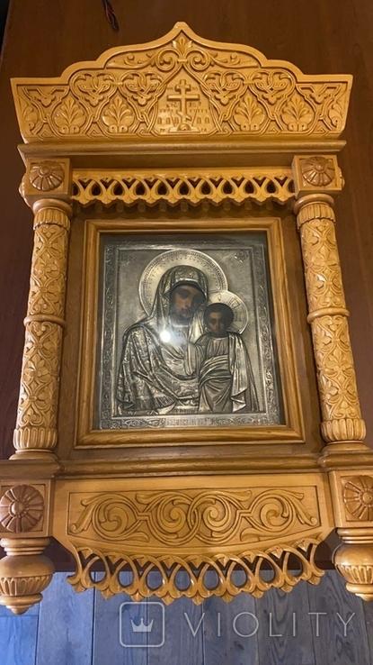 Икона Казанская Божья матерь Модерн, фото №2