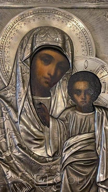 Икона Казанская Божья матерь Модерн, фото №9