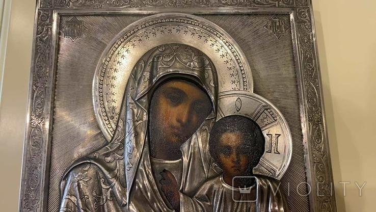 Икона Казанская Божья матерь Модерн, фото №13