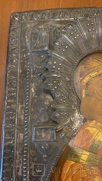 Икона Богоматерь Владимирская, 1817г. Мастер А.Григорьев,Москва, фото №4