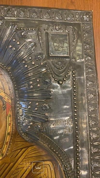 Икона Богоматерь Владимирская, 1817г. Мастер А.Григорьев,Москва, фото №5