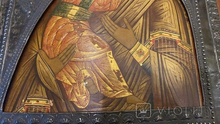 Икона Богоматерь Владимирская, 1817г. Мастер А.Григорьев,Москва, фото №8