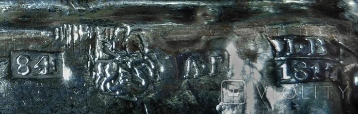 Икона Богоматерь Владимирская, 1817г. Мастер А.Григорьев,Москва, фото №13