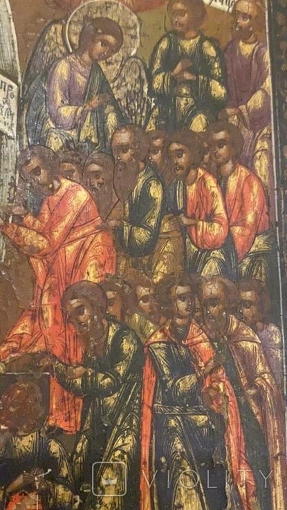 Икона Всем скорбящим радость, начало 19 века, фото №5