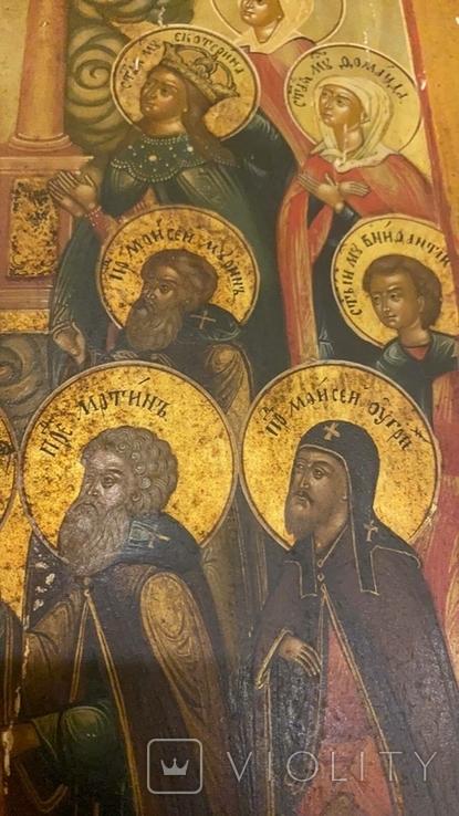 Икона Богоматери Владимирской, Ярославль, Начало 19 века, фото №9