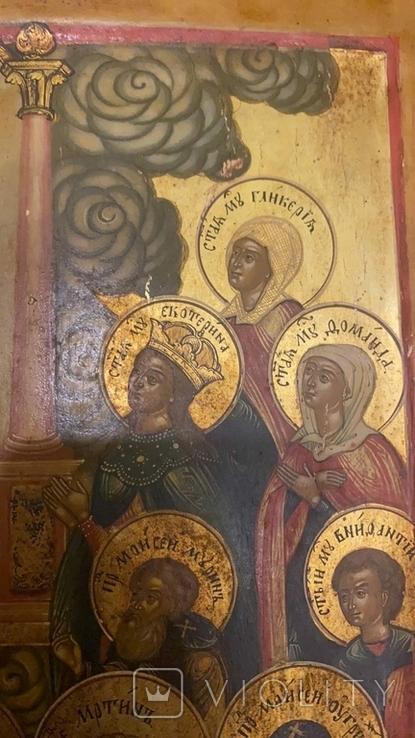 Икона Богоматери Владимирской, Ярославль, Начало 19 века, фото №10