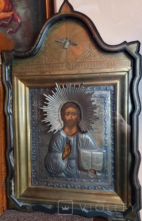 Икона Господь Вседержитель.  Аналой., фото №2