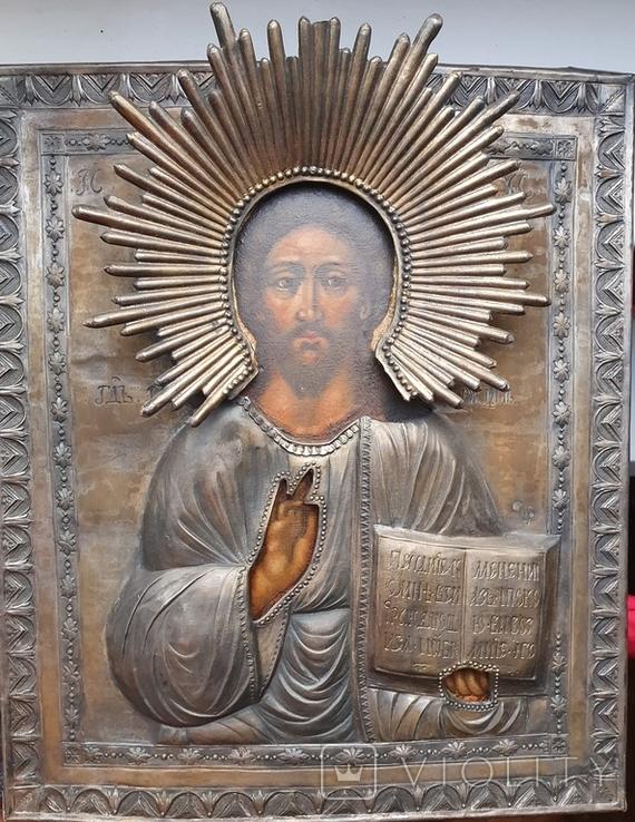 Икона Господь Вседержитель.  Аналой., фото №3
