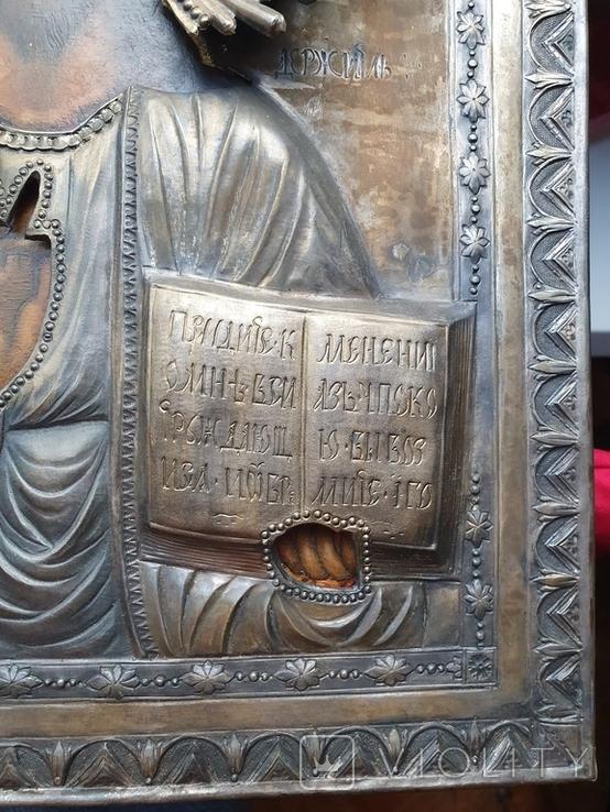 Икона Господь Вседержитель.  Аналой., фото №9