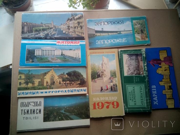 Наборы открыток по разным тематикам (155шт) + бонус, фото №11