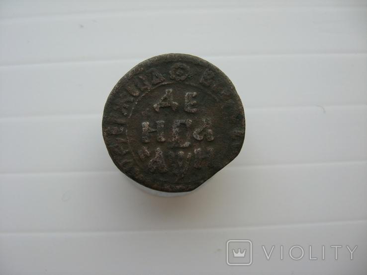 Деньга Петра 1708 год, фото №2