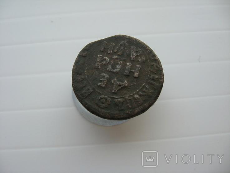 Деньга Петра 1708 год, фото №5