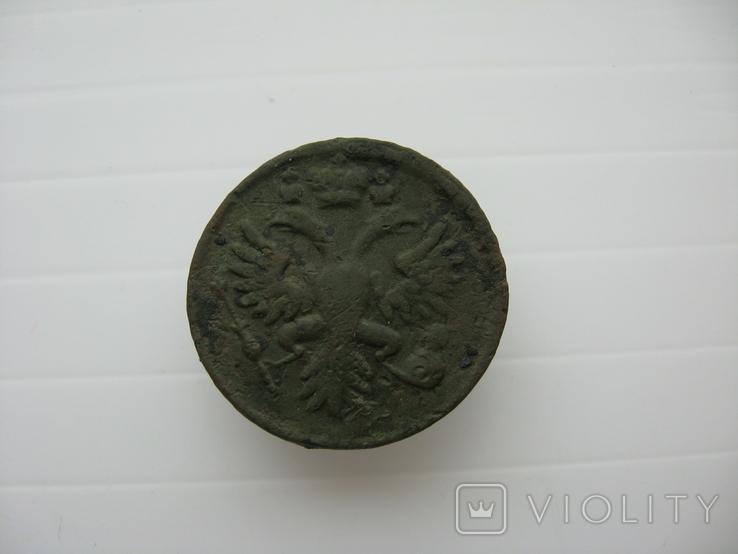 Деньга 1731 год,одна черта, фото №6