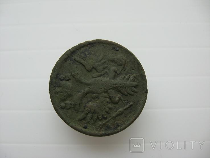 Деньга 1731 год,одна черта, фото №7