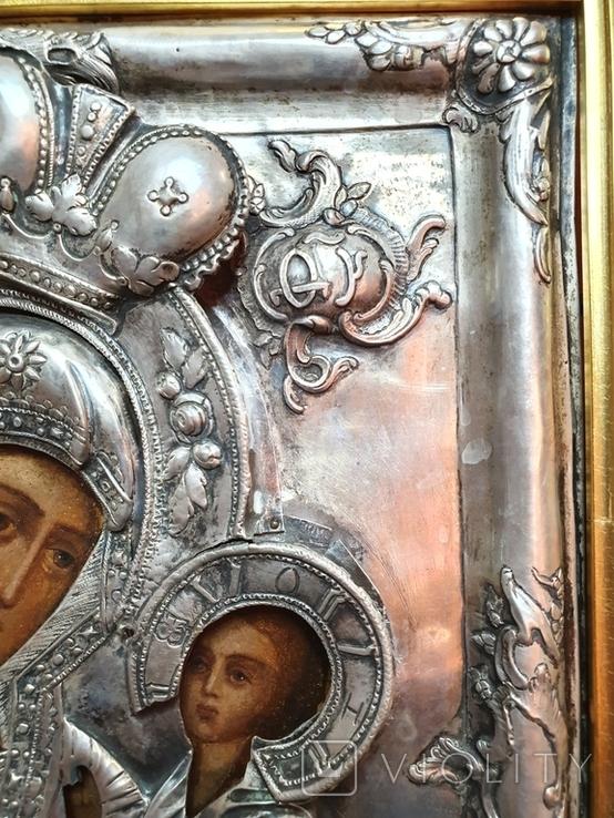 Икона Богородица Смоленская 1779г., фото №7