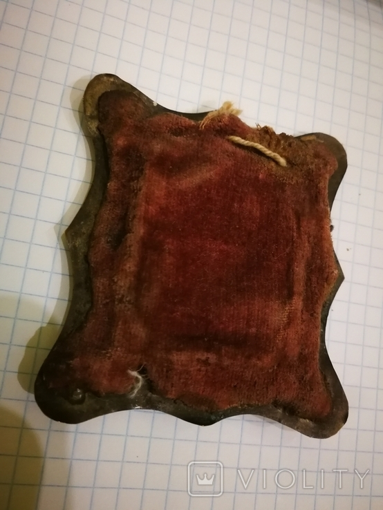 Икона миниатюрная, емаль, за реставрации, фото №7