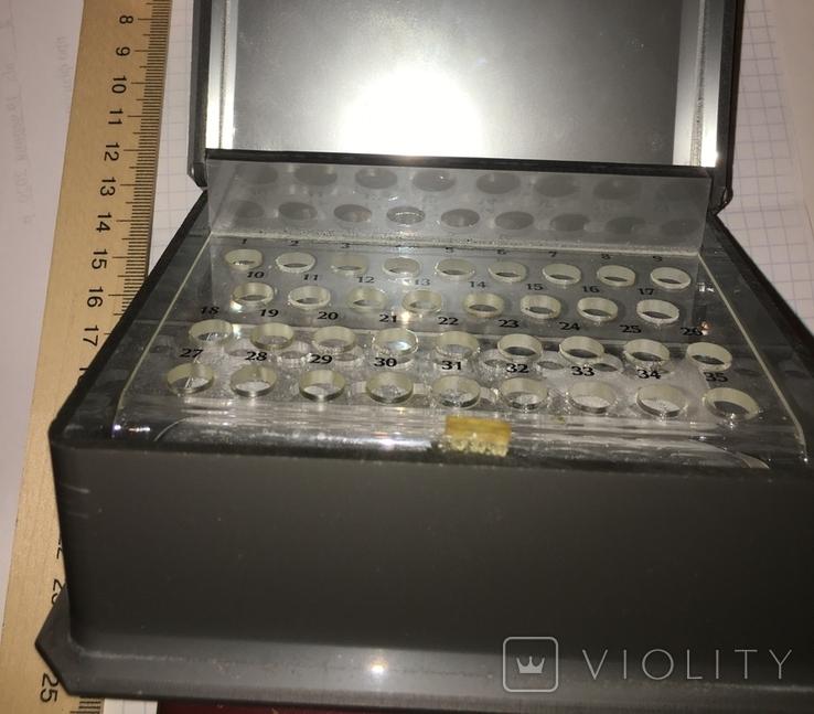 Пластиковая шкатулка Ламбре для 1 мл тестеров, пробников / Lambre, фото №5