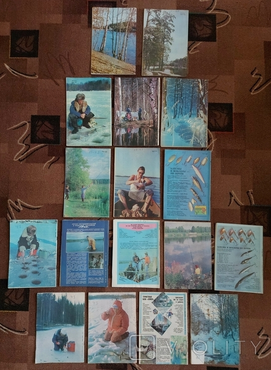 Журналы Рыболов 17 шт., фото №3