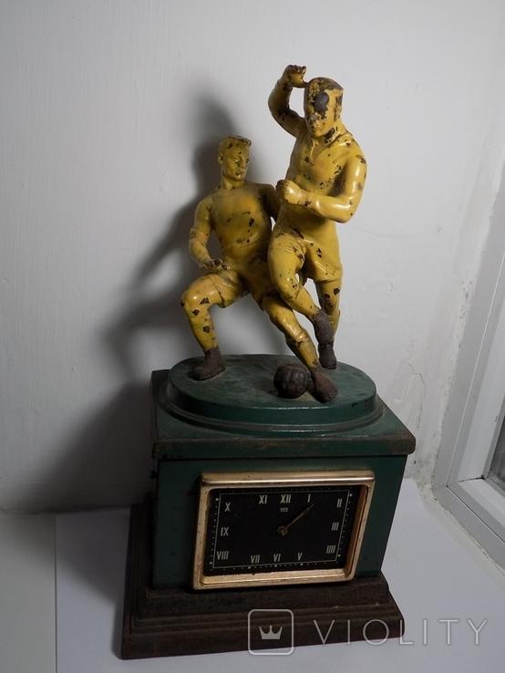 Часы Футболисты . Касли, фото №2