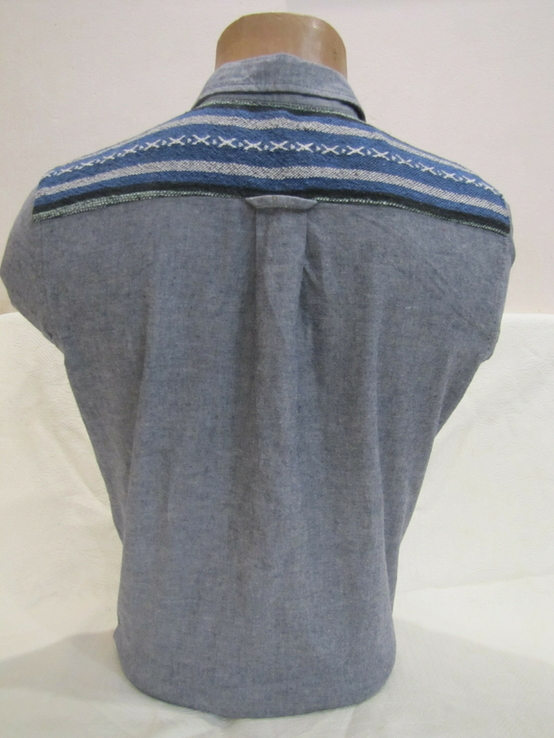 Модная мужская рубашка Bellfield оригинал в отличном состоянии, фото №6
