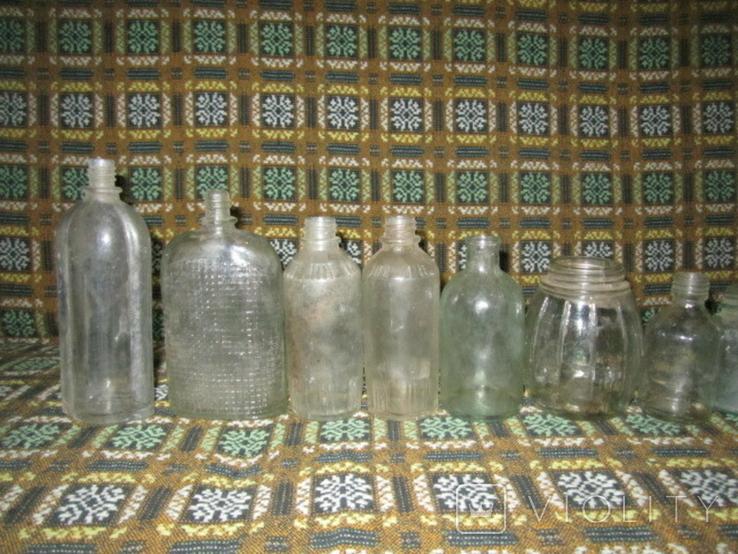Старинные бутылочки 14шт., фото №3